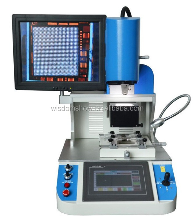 110V / 220V available cell phone bga ic repairing machine professional soldering station with optical alignment
