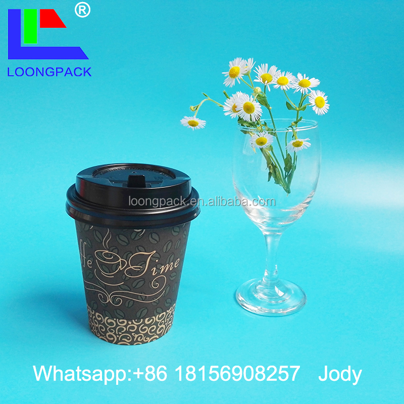 disposable paper coffee cup lid plastic lids for coffee paper cup