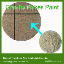special effect granite flakes coating stone effect coating