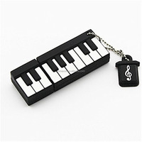 Alibaba whoesale 8G 16G 32G 64G Piano shape USB flash pen drive Keyboard USB stick