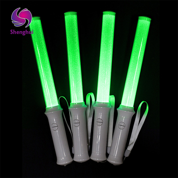 50 Pcs LED Colorful Concert Party Club Cheer Sponge Glowsticks Glow Sticks for Concert Christmas Party Accessories