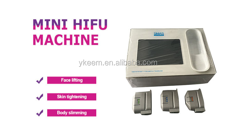 Portable HIFU machine for anti wrinkle and skin tightening