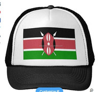 2015 manufacture custom new style Kenya flag custom snapback hat