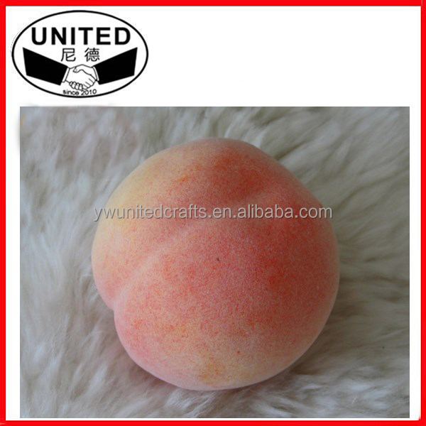 Home Decoration artificial fruits and vegetables, fake fruits peach