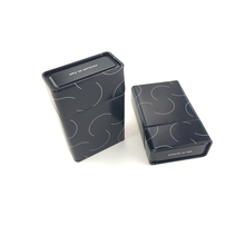 Hot sale metal cigarette storage box case custom cigarette box