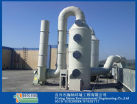 Cost Efficient Gas Acid Fume Scrubber for Treatment of H2S04 HCL and HF