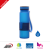 PLASTIC OR SILICONE HOT SELLING FOLDABLE WATER BOTTLE