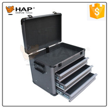 CE Approval 3 Drawers Small Aluminum Case