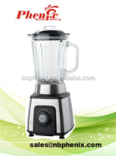 Square stainless steel table blender smoothies maker with LED light