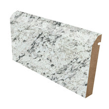 Laminate white kitchen island countertop