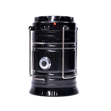 Mini extendable portable solar powered led camping lantern with rechargeable battery