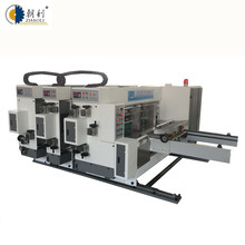 Flexo ink carton box one color flexo printing and slotting machine