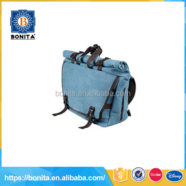 2016 new design trend small blue unisex school kid book bag