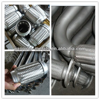 stainless exhaust pipe connector/muffler