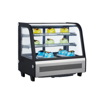 72L To 510L Commercial Glass Bakery Cabinet Chiller Showcase Countertop Cooler Refrigerator Cake Display Case
