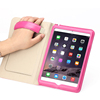 High quality factory price handheld flip real leather cover for ipad mini 4