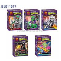 5 style teenage mutant ninja turtles series toy plastic ninja turtles toys;custom plastic ninja turtles toys
