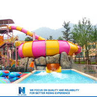 2016 Most popular used water park slides for sale