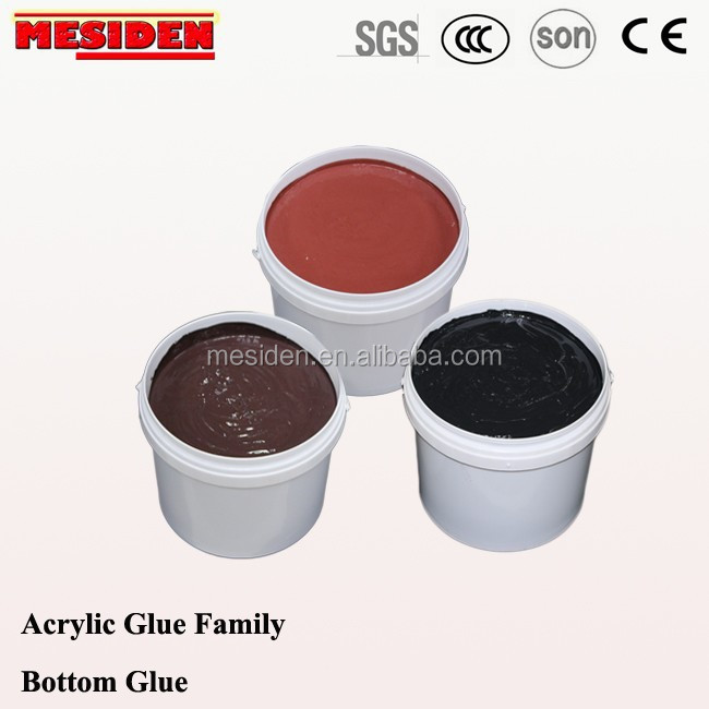 Hot selling Acrylic Water-based Adhesive/Glue for Color Stone Coated Metal Roof Tile