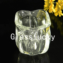 2016 Hot Sale CH14010-1 Wholesale Bulk Tulip Shape Elegant Crystal Different Types of Candle Holder in Wedding Table Decorations
