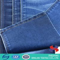lastest design polyester rayon spandex(tr) denim dyed knitted fabric