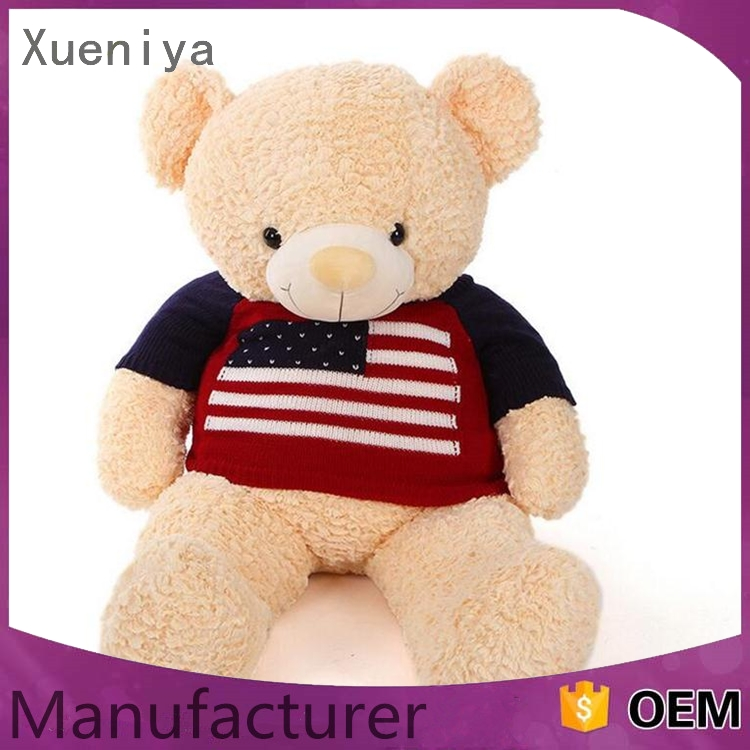 eco-friendly factory multi-functiona plush nurse bear toy