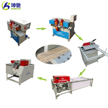Top quality wooden skewer making machine / bbq stick making machine supplied by KUNCHI