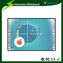 "82"" 84"" inch active size E3 magnetic ceramic interactive whiteboard with intelligent pen tray"