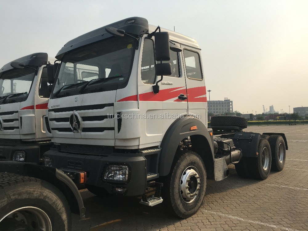 North-benz BeiBen NG80 6X4 430HP Tractor Head Truck Trailer Truck Prime Mover