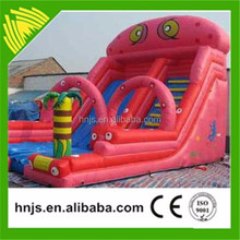 Cheap inflatable slide industrial inflatable water slide