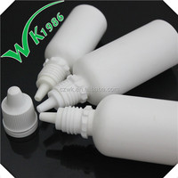 60ml plastic e-liquid dropper bottles