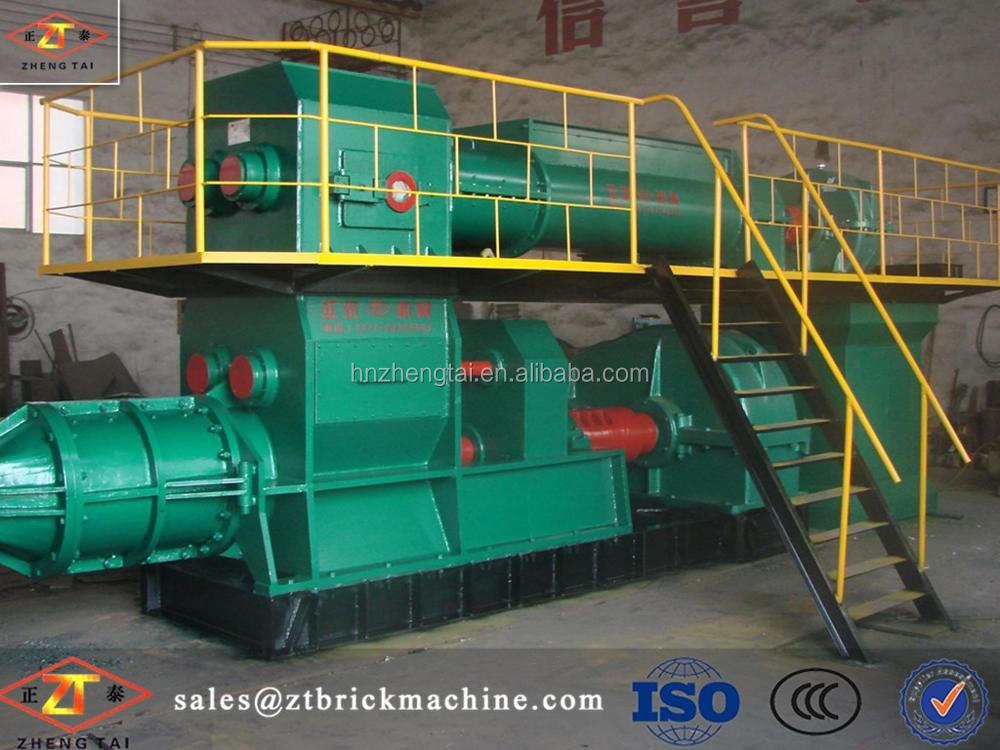 High efficiency fire clay brick machine block machine&vacuum extruder with popular