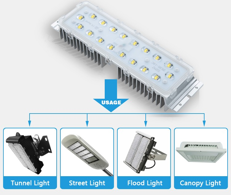 Wholesale excellent high power white led lighting, project 60w led street light retrofit kits