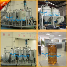 Waste Tyre Pyrolysis Oil Refining Plant to Get Diesel for Removing Bad Smell and Change Oil Color