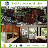 Fastly install individuation prefab hobbit house ,Do you want to live in one of the shipping containers house?
