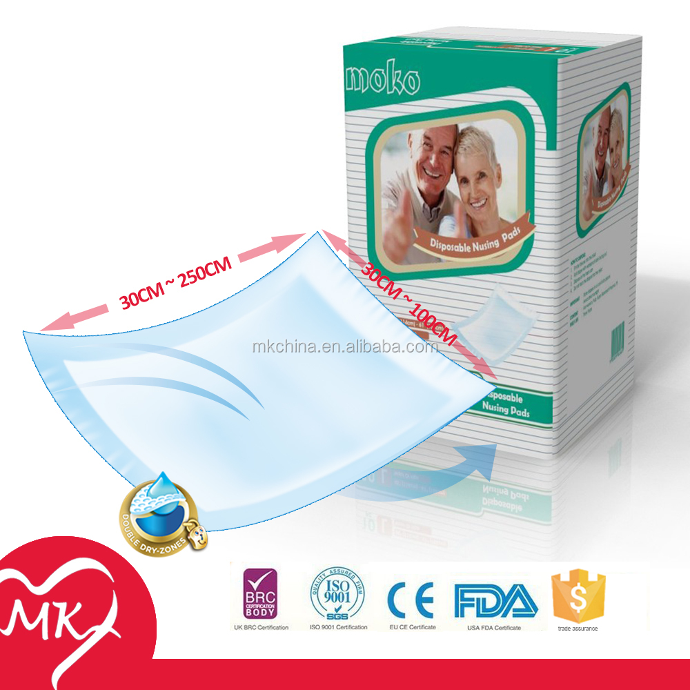 Disposable Hospital nursing adult Maternity Pad Bed Under Pad For Elderly Underpad and adult diaper