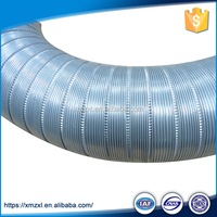 Aluminum round soft install flexible duct for hvac