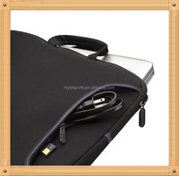 Black Custom Neoprene Notebook Sleeve, gearmax neoprene laptop sleeve