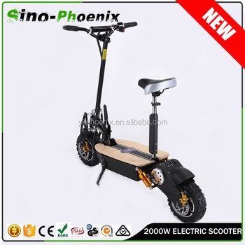 OEM acceptable evo 60v electric scooter 2000w adults with front /rear lights ( PES02 - 60v2000W )