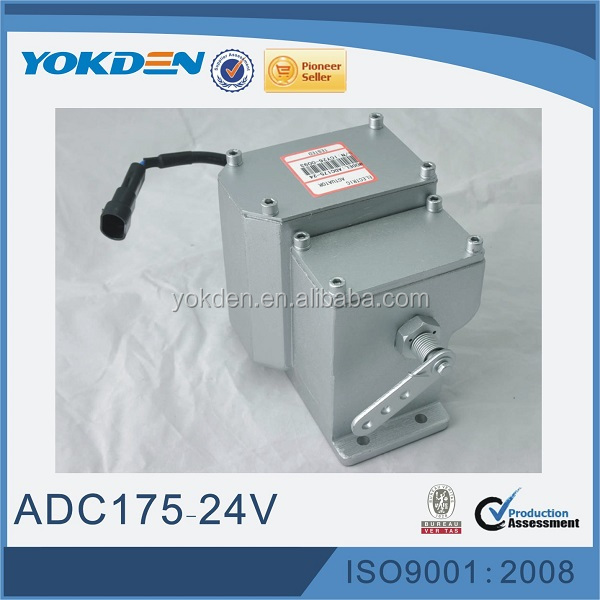 Diesel Electronic Generator Speed Governor Actuator ADC175
