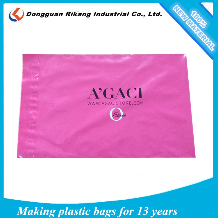 Colorful plastic postal bag wholesale poly envelopes with adhesive tape