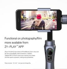 Zhiyun Smooth Q 3-Axis Handheld Smartphone Gimbal Portable Stabilizer with Selfie Vertical Shooting Panorama for smartphone