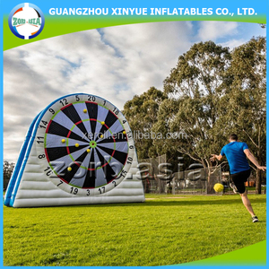New Soccer Games Giant Inflatable Foot Darts For Sale