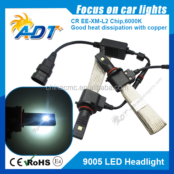 2PCS 40W 5000LM Auto Cr LED H1 single beam Car Headlight Conversion Kit Driving fog Lamp Xenon Motorcycle Car Light Source