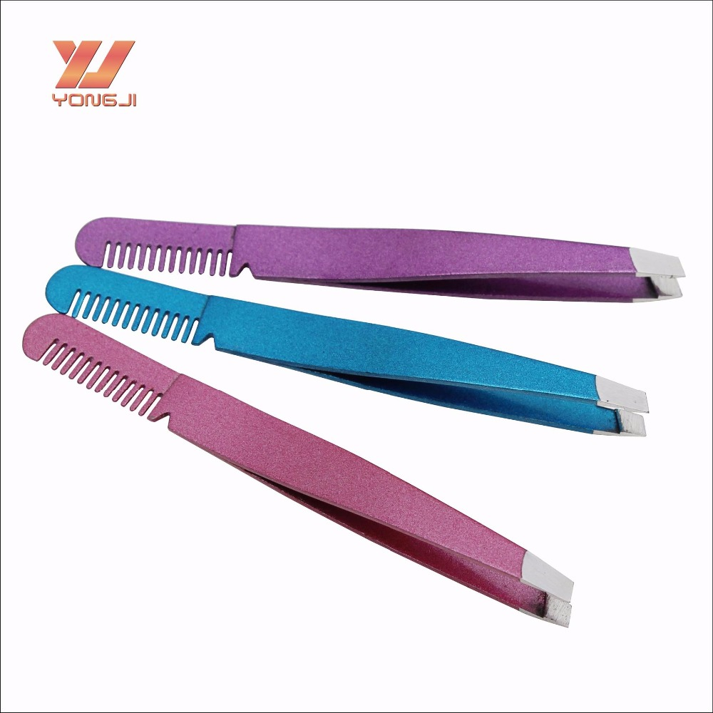 professional manufacturer custom tweezers with comb