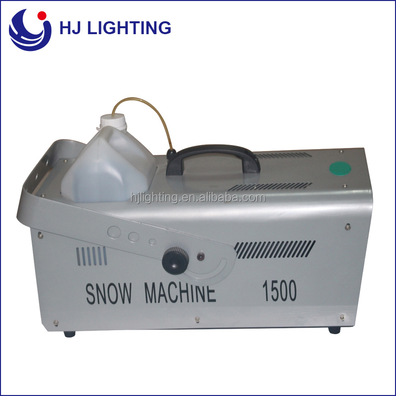 Good quality dmx512 1500w snow machine
