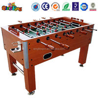 Qingfeng 10-20% hot sale foosball soccer table/electronic foosball table with electronic scoring/glass top for foosball table