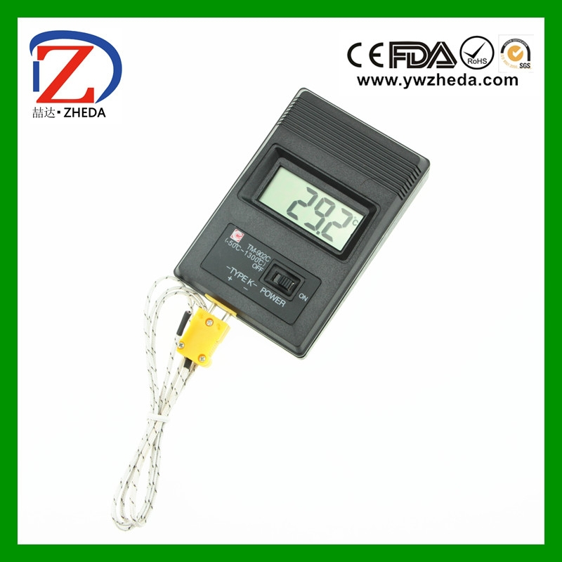 -50~1300'<strong>C</strong> range Thermocouple TM-902C industrial Digital Thermometer