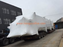 Hongyun film heavy duty wrap LDPE shrink film 5m *200um white color with UV block