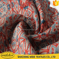 2015 Tencel Reactive digtal silk bedsheet printed fabric
